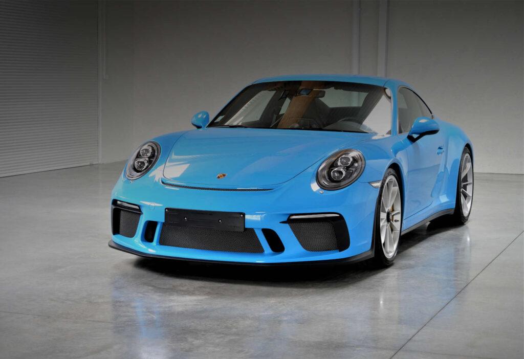 Porsche 991 GT3 Touring Bleu Riviera