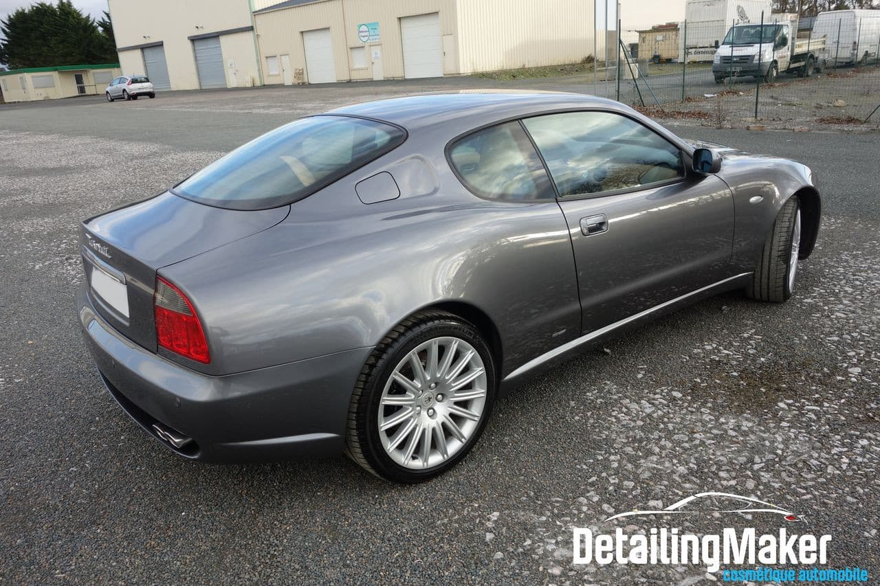 Detailing Sur Maserati 4200 Gt Coup 233 Cambiocorsa