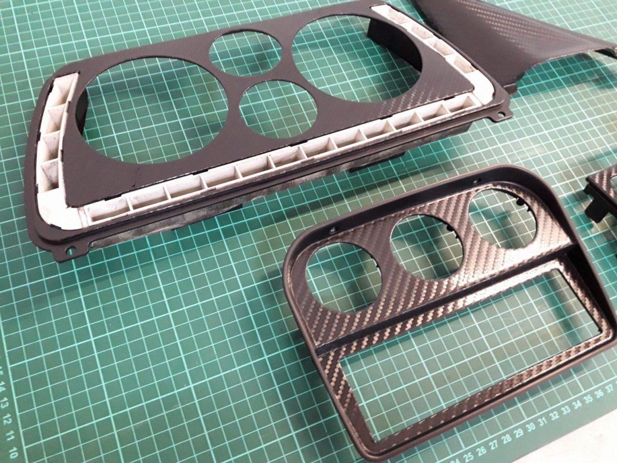 covering carbone insert interieur ferrari f355