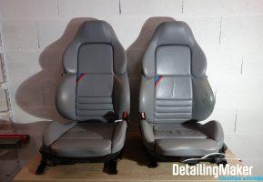 Rénovation siège cuir M3 E36