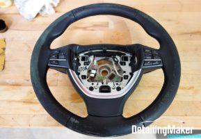 Rénovation cuir volant BMW Série 5_12