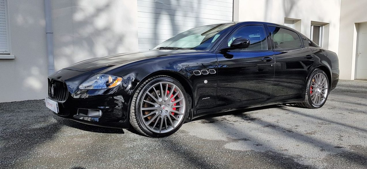 Detailing Maserati Quattroporte GTS