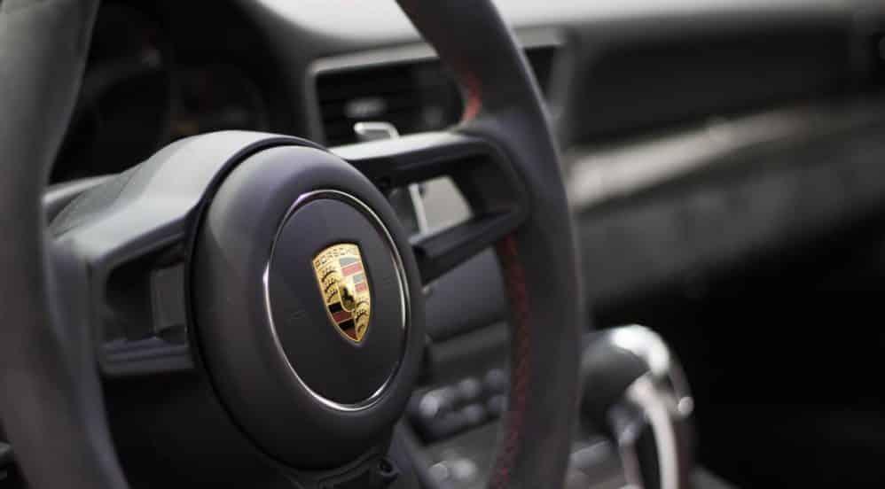 Volant Porsche GT3