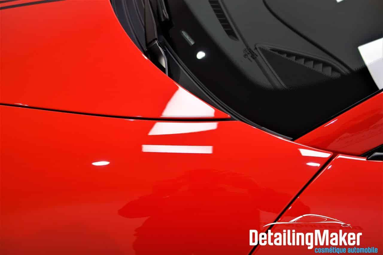 Film transparent de protection carrosserie