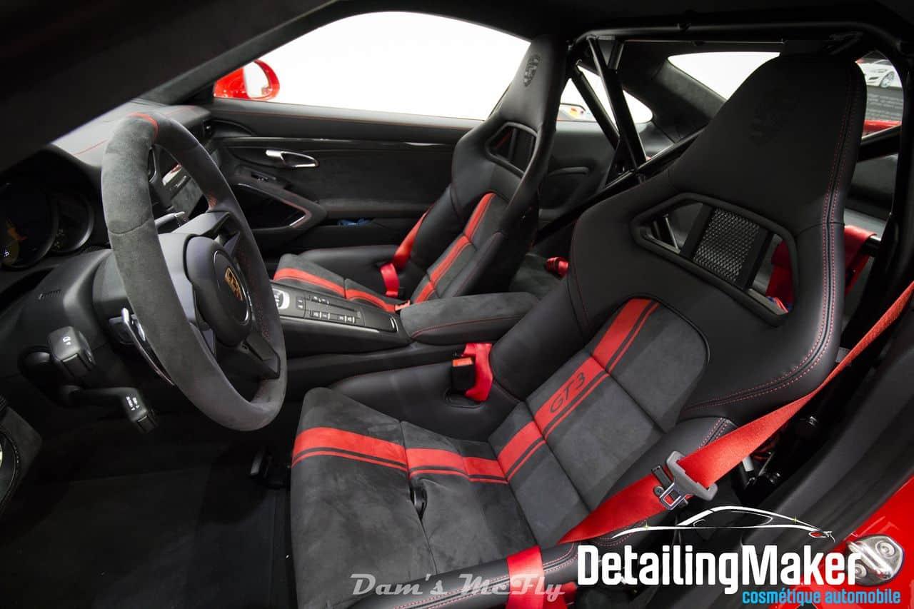Intérieur Clubsport Porsche GT3