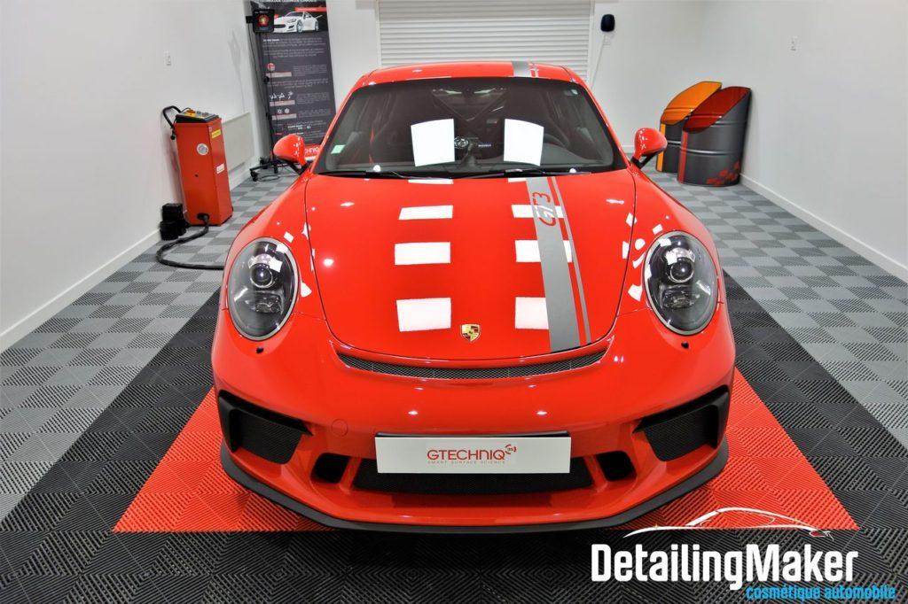 Protection par film sur Porsche GT3