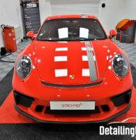 Protection par film sur Porsche GT3