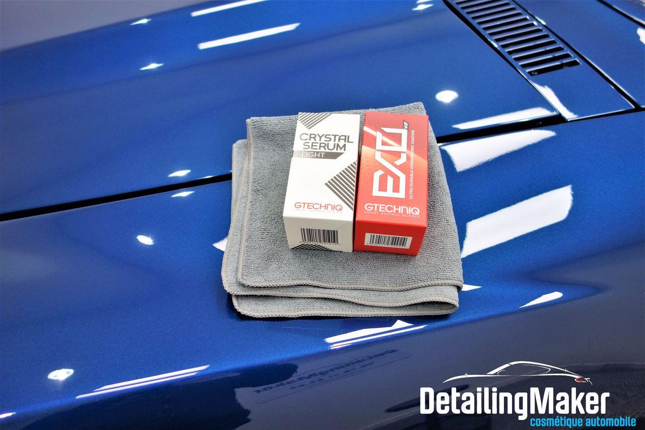 Traitement céramique sur uneCorvette C3 Stingray :