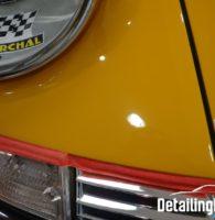 Après correction bas aile avant Porsche 911