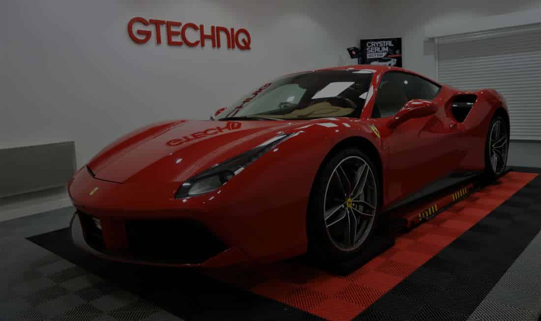 detailing protection c ramique sur une ferrari 488 gtb. Black Bedroom Furniture Sets. Home Design Ideas