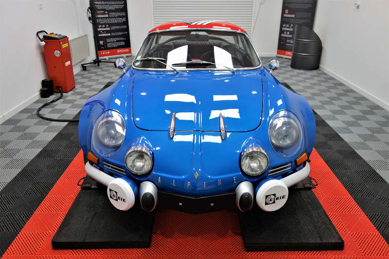 Alpine A110 rénovation