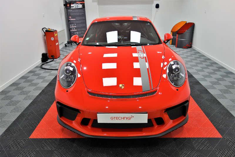Film de protection sur Porsche 991 GT3