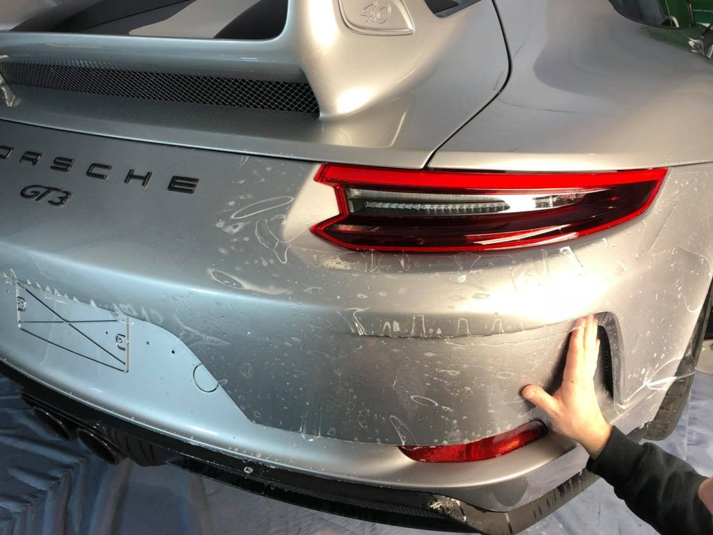 Film protection sur Porsche GT3