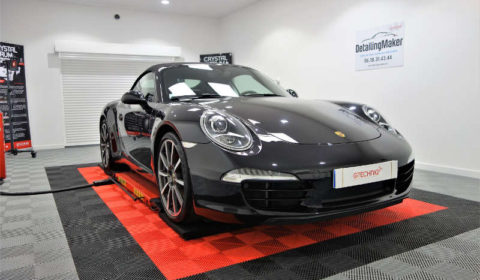 Traitement sur Porsche 991