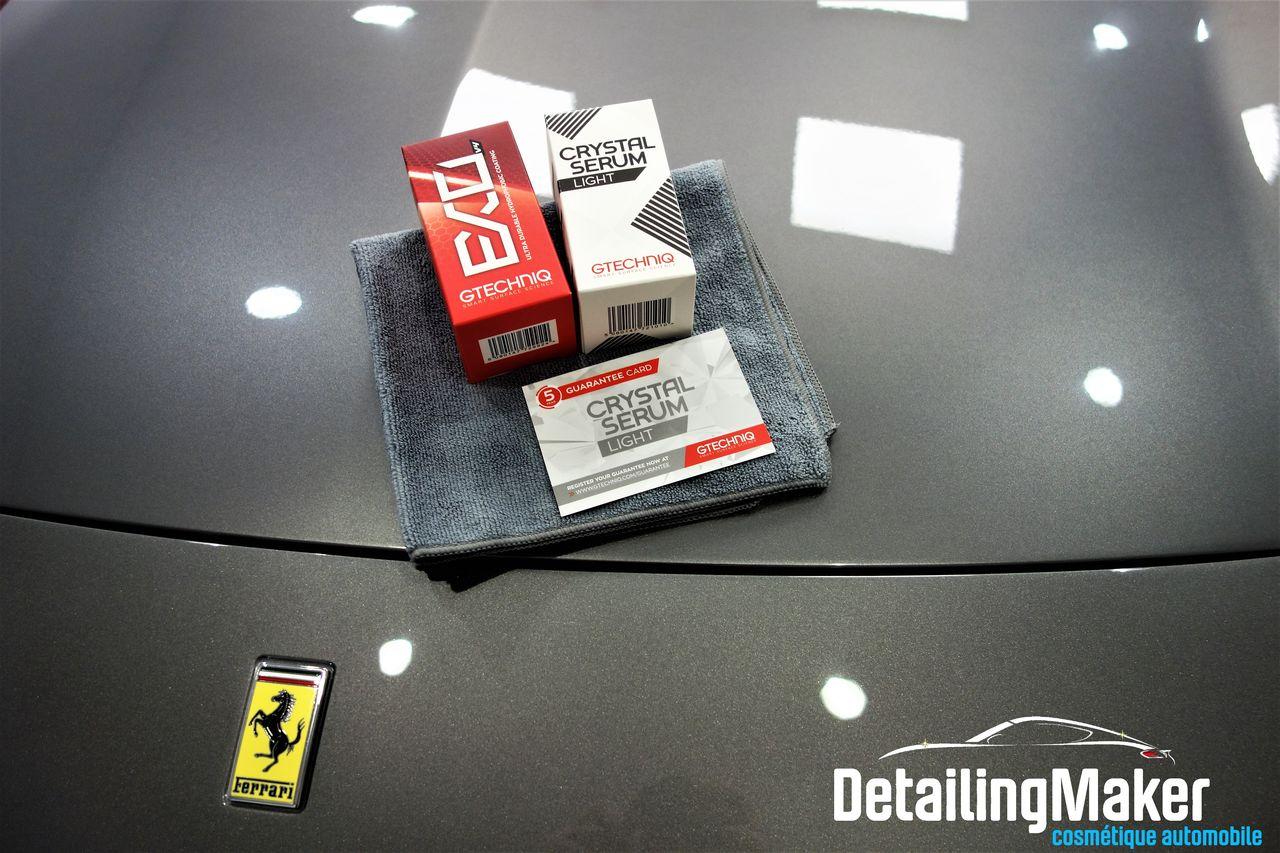 Traitement céramique sur Ferrari California T