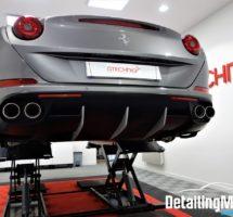 Detailing Ferrari California T_30