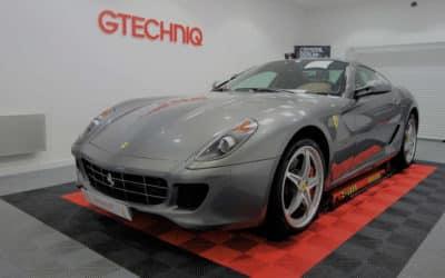 Detailing Ferrari 599 GTB HGTE
