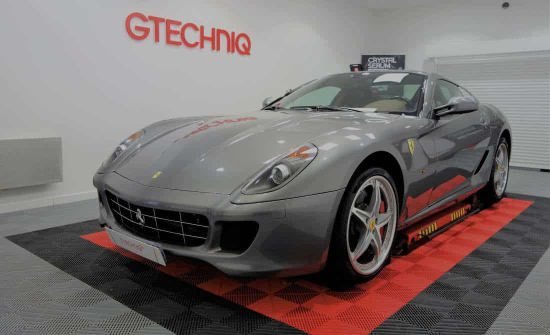ferrari 599 gtb fiorano hgte detailing et protection carrosserie. Black Bedroom Furniture Sets. Home Design Ideas