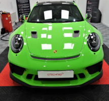 Film protection carrosserie Porsche GT3 RS