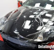 Film de protection carrosserie sur Aston Martin