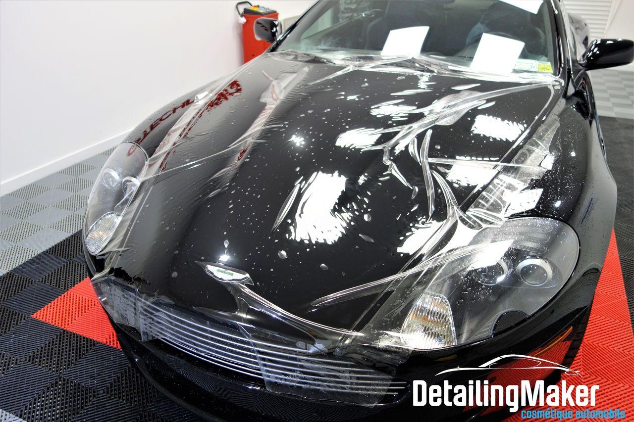 film PPF sur Aston Martin DB9