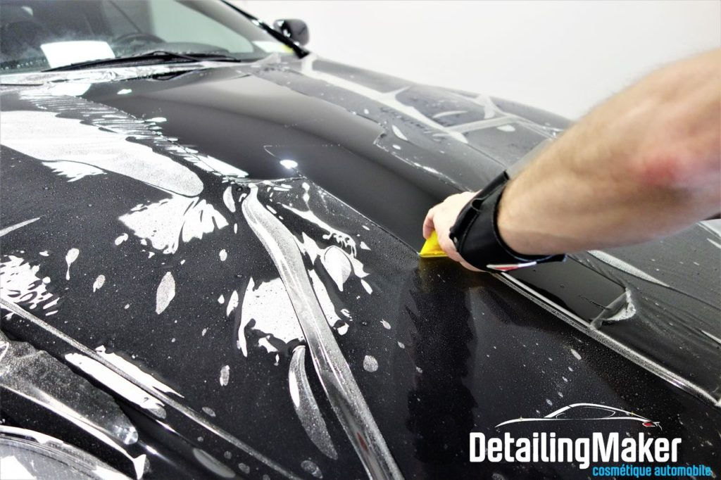 Film de protection carrosserie sur DB9