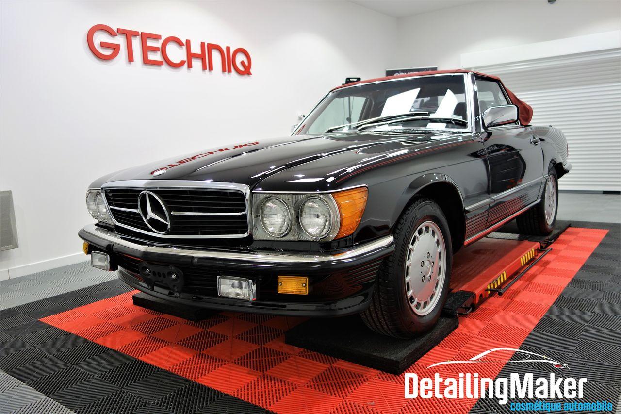 Detailing Mercedes 560 SL_40