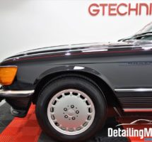 Detailing Mercedes 560 SL_48