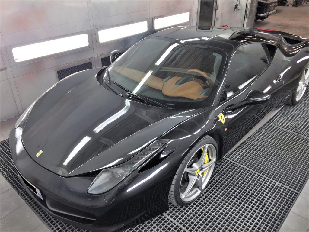 carrosserie peinture angers Ferrari