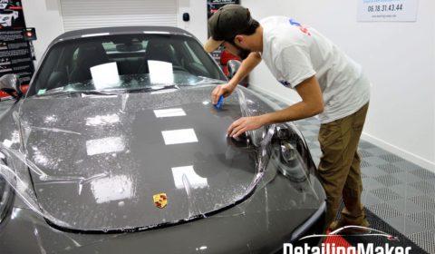 Porsche 991 Targa 4 GTS film de protection carrosserie PPF Suntek_17