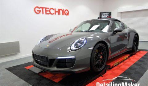 Porsche 991 Targa 4 GTS film de protection carrosserie PPF Suntek_38