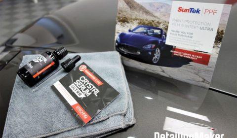 Porsche 991 Targa 4 GTS film de protection carrosserie PPF Suntek_46