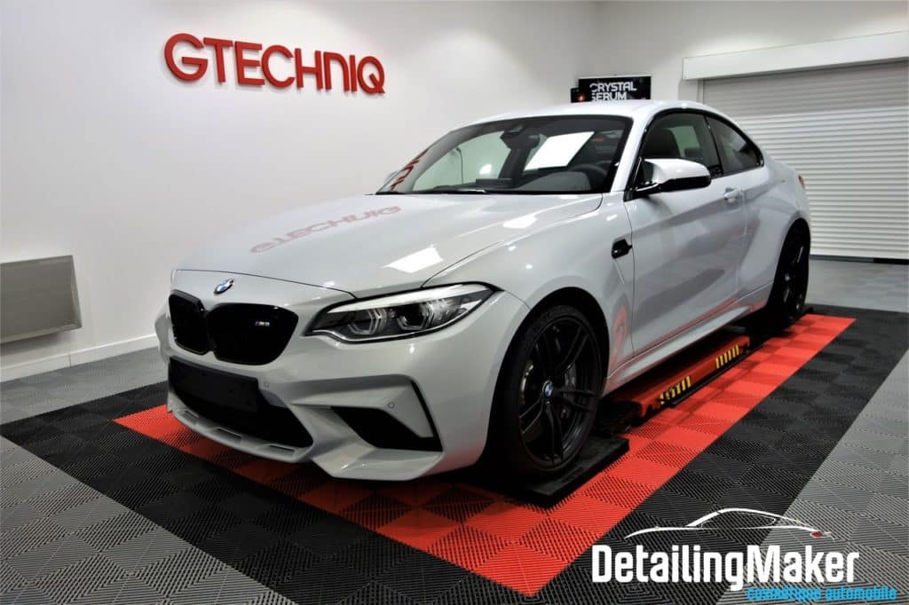 film protection carrosserie PPF sur BMW M2