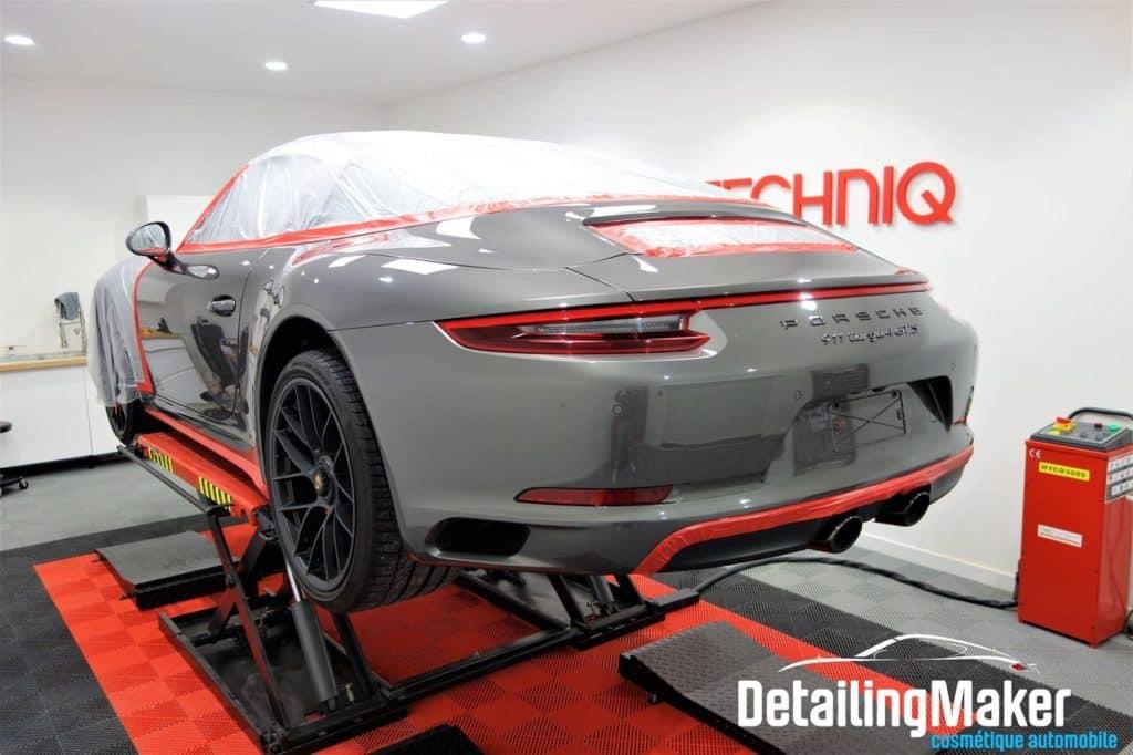 Detailing sur Porsche 911 Targa