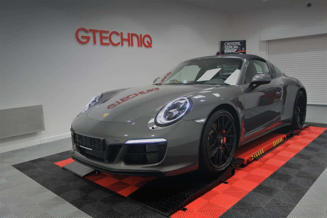 Porsche 991 Targa 4 GTS film de protection carrosserie PPF
