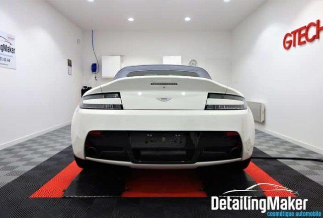 detailing sur Aston Martin Vantage V12 Roadster S