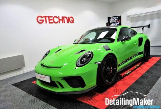 Detailing Porsche 991 GT3 RS Pack Weissach