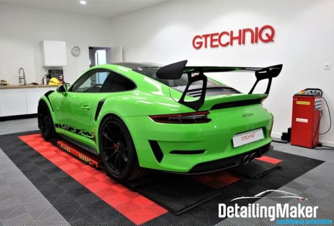 film ppf sur Porsche 991 GT3 RS Pack Weissach