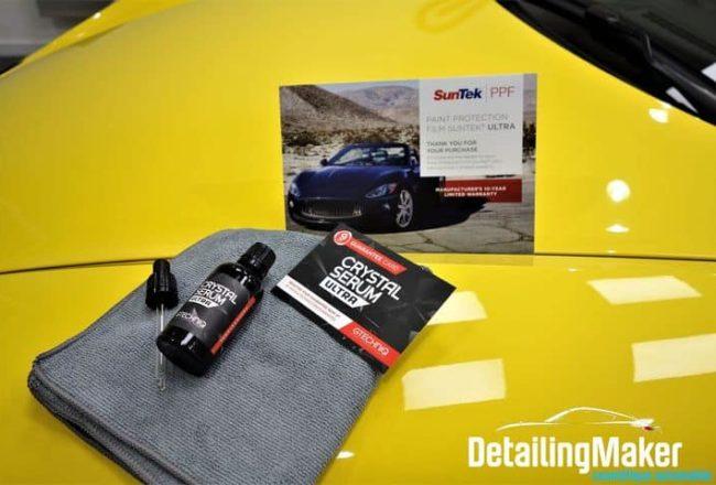 Film PPF Suntek sur Porsche 718 Spyder_45