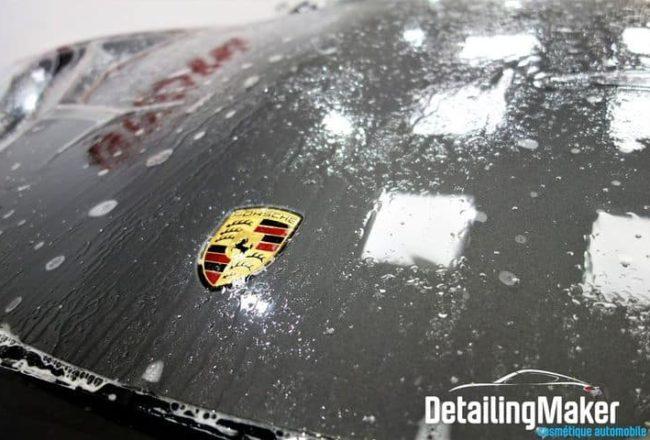 Porsche 991 Targa 4 GTS film de protection carrosserie PPF Suntek_16