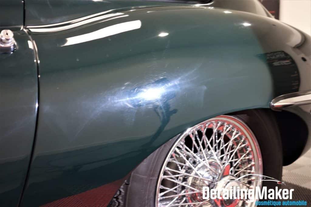 defaut carrosserie jaguar type e
