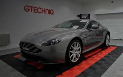 film PPF sur Aston Martin Vantage