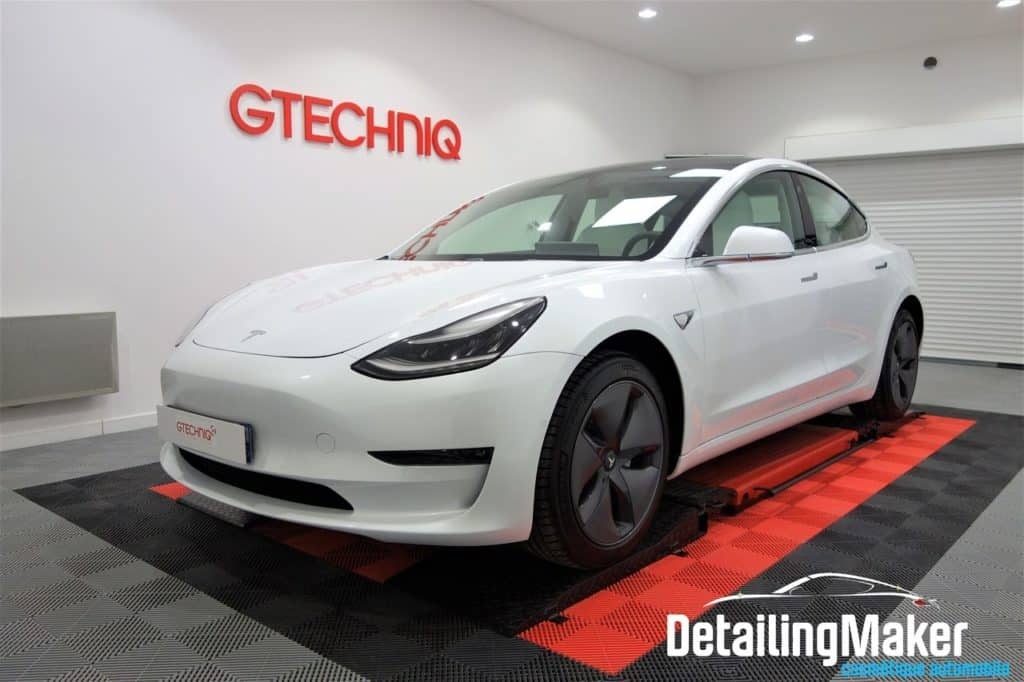 film protection Tesla Model 3 blanche