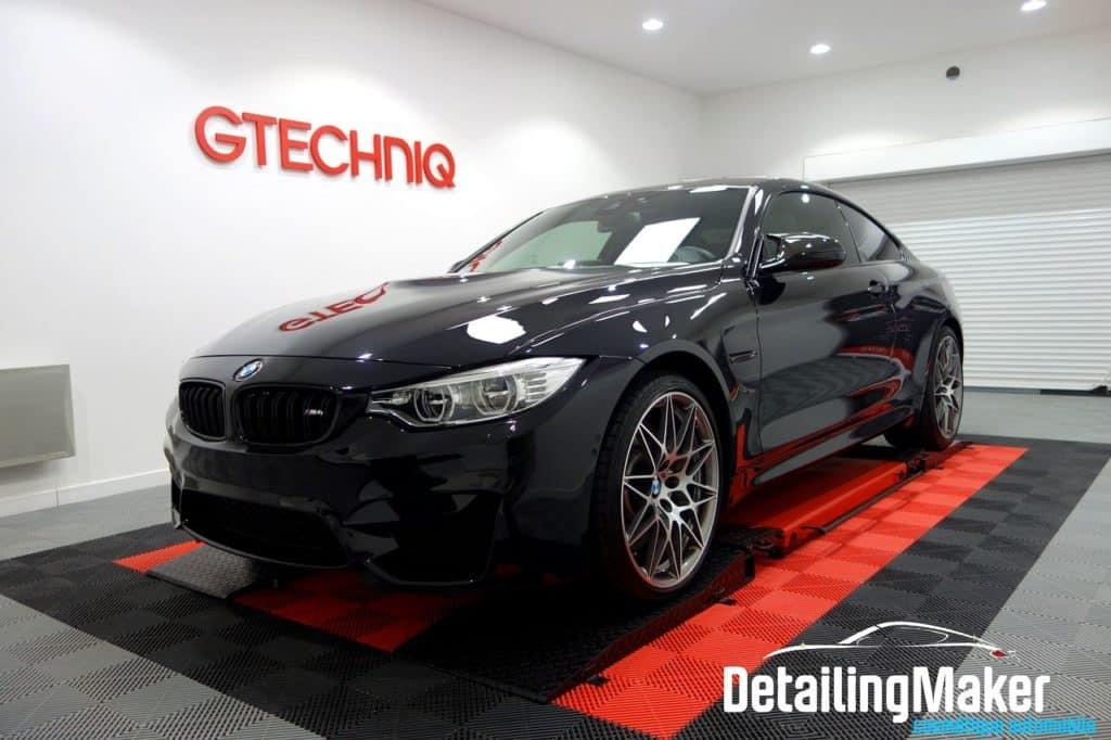 BMW M4 Compétition suite à un traitement céramique