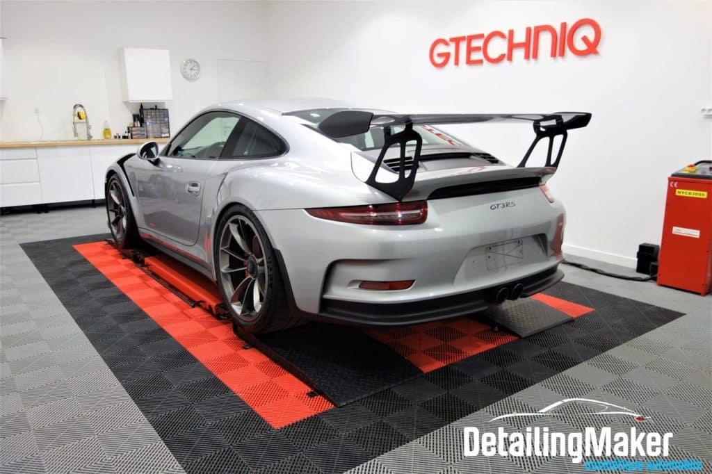 Traitement ceramique sur Porsche GT3