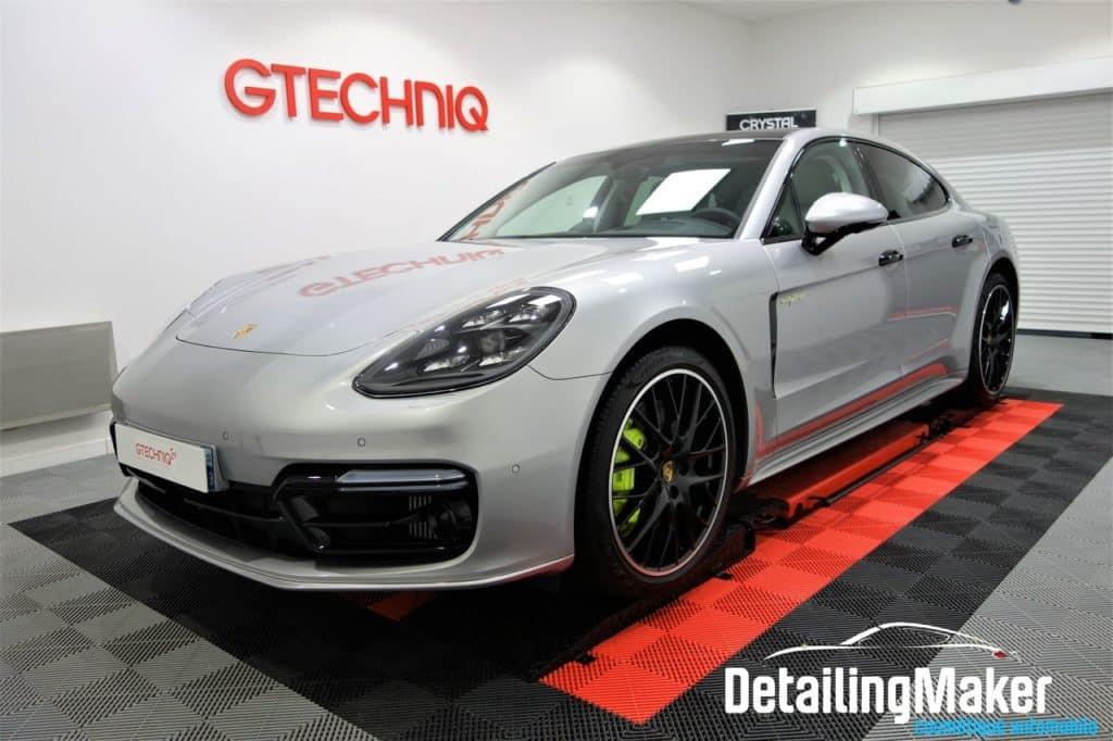 Porsche Panamera après un traitement céramique