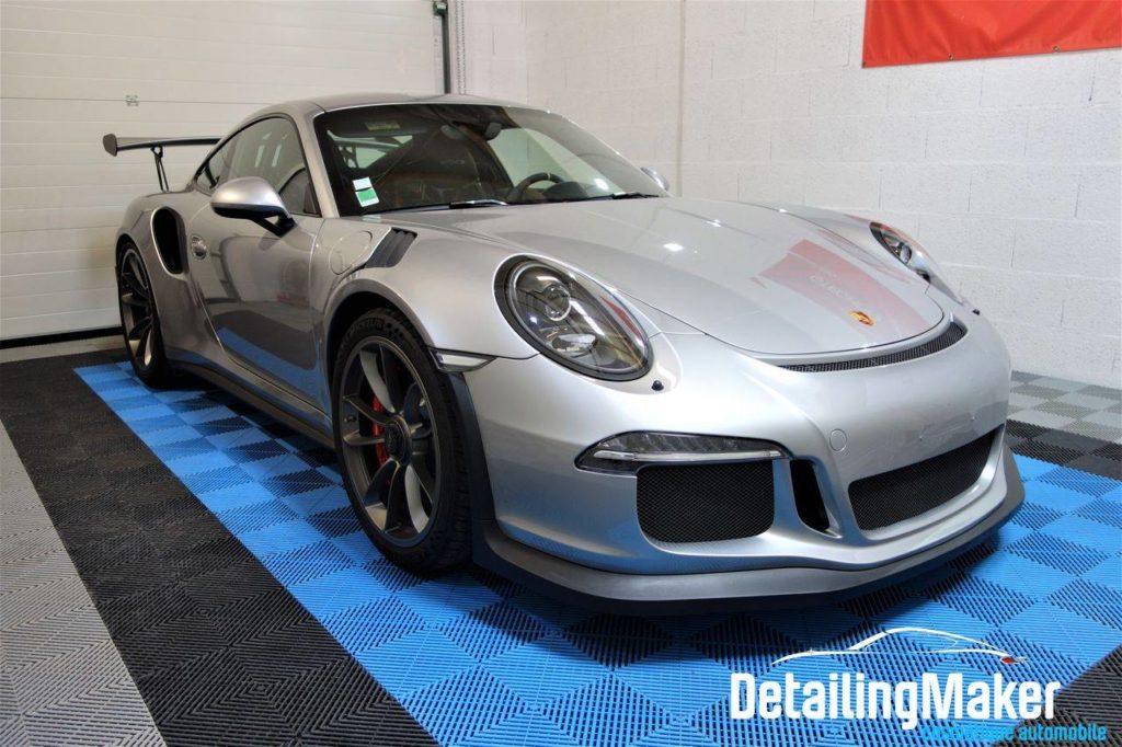 Porsche 911 GT3 RS type 991 phase 1 de 2016 couleur argent GT