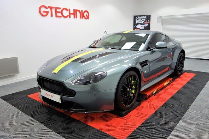 Aston Martin Vantage V12 AMR detailing et traitement céramique_32
