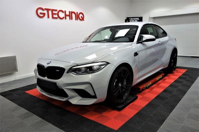 BMW M2 Pack Compétition, film PPF et traitement céramique Gtechniq_21