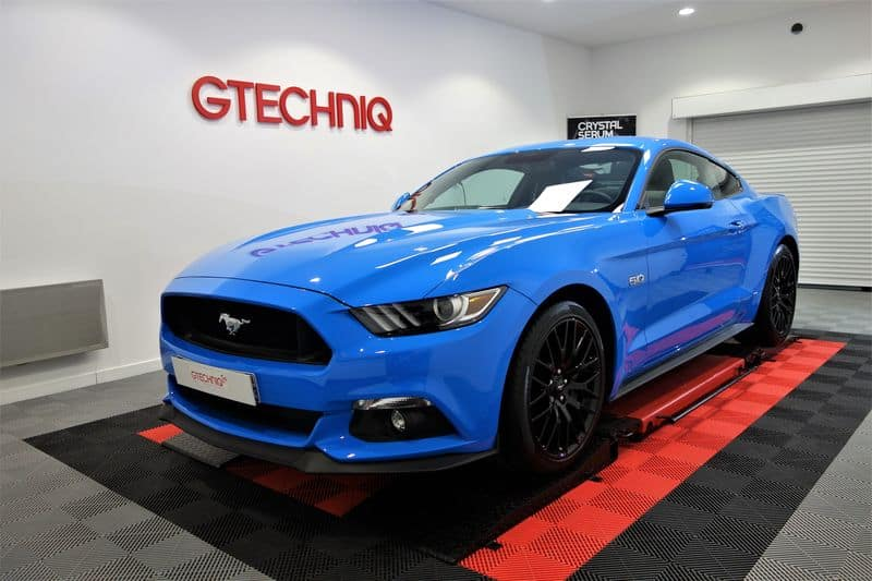 Ford Mustang V8 5.0L, detailing et traitement céramique_36
